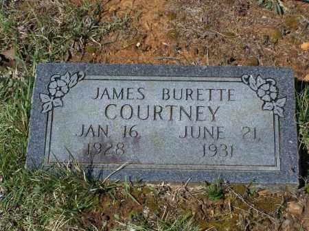"COURTNEY, JAMES BURETTE ""BUD"" - Lawrence County, Arkansas | JAMES BURETTE ""BUD"" COURTNEY - Arkansas Gravestone Photos"