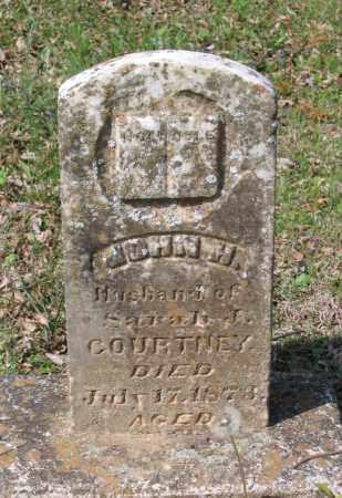 COURTNEY (VETERAN), JOHN H. - Lawrence County, Arkansas   JOHN H. COURTNEY (VETERAN) - Arkansas Gravestone Photos