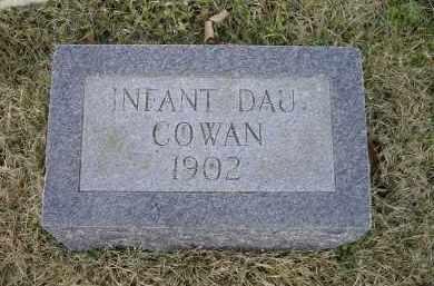 COWAN, INFANT DAUGHTER - Lawrence County, Arkansas | INFANT DAUGHTER COWAN - Arkansas Gravestone Photos