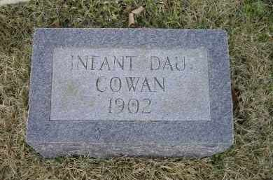 COWAN, INFANT DAUGHTER - Lawrence County, Arkansas | INFANT DAUGHTER COWAN - Arkansas Gravestone Photos