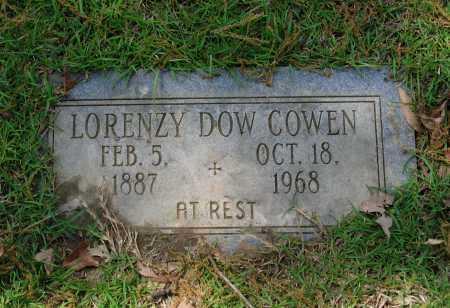"COWEN, LORENZA DOWELL ""LORENZY DOW"" - Lawrence County, Arkansas   LORENZA DOWELL ""LORENZY DOW"" COWEN - Arkansas Gravestone Photos"