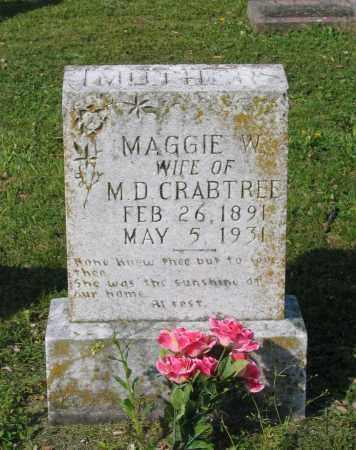 "WARDEN CRABTREE, MARGARET ""MAGGIE"" - Lawrence County, Arkansas   MARGARET ""MAGGIE"" WARDEN CRABTREE - Arkansas Gravestone Photos"