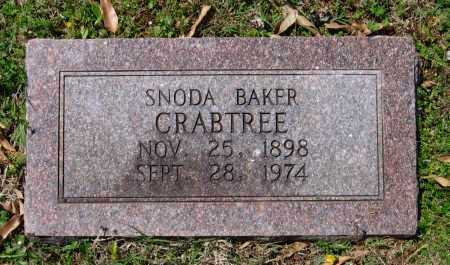 CRABTREE, SNODA - Lawrence County, Arkansas | SNODA CRABTREE - Arkansas Gravestone Photos