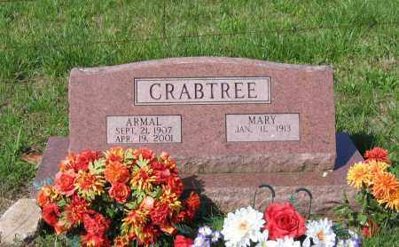 CRABTREE, WILLIAM ARMAL - Lawrence County, Arkansas | WILLIAM ARMAL CRABTREE - Arkansas Gravestone Photos
