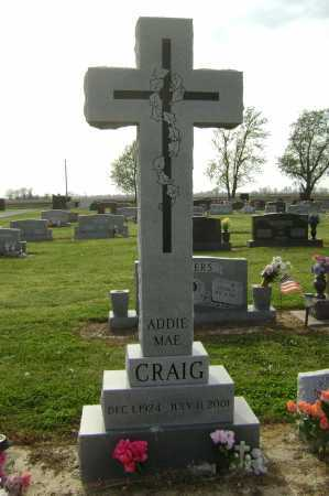 CRAIG, ADDIE MAE - Lawrence County, Arkansas   ADDIE MAE CRAIG - Arkansas Gravestone Photos