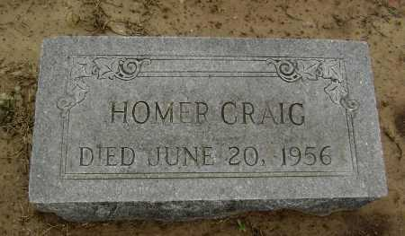 CRAIG, HOMER GOULD - Lawrence County, Arkansas | HOMER GOULD CRAIG - Arkansas Gravestone Photos