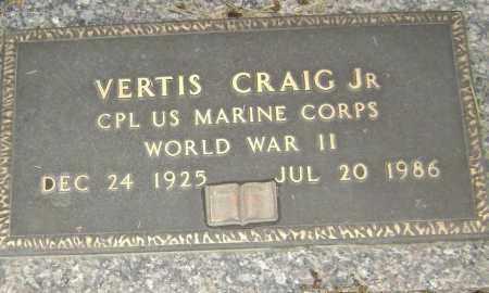 CRAIG, JR  (VETERAN WWII), VERTIS - Lawrence County, Arkansas | VERTIS CRAIG, JR  (VETERAN WWII) - Arkansas Gravestone Photos