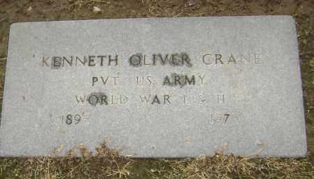 CRANE  (VETERAN 2 WARS), KENNETH OLIVER - Lawrence County, Arkansas | KENNETH OLIVER CRANE  (VETERAN 2 WARS) - Arkansas Gravestone Photos