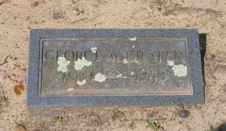 CRATER, GEORGE W. - Lawrence County, Arkansas | GEORGE W. CRATER - Arkansas Gravestone Photos
