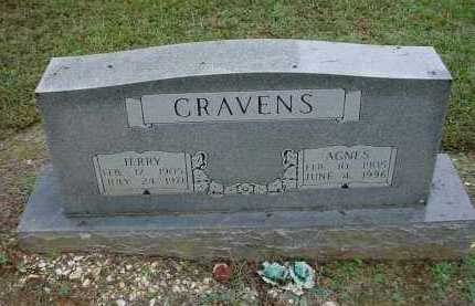 CRAVENS, LILLIE AGNES - Lawrence County, Arkansas | LILLIE AGNES CRAVENS - Arkansas Gravestone Photos