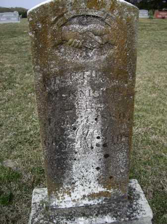 MCKNIGHT, MARTHA G. CRAVENS BARNETT - Lawrence County, Arkansas | MARTHA G. CRAVENS BARNETT MCKNIGHT - Arkansas Gravestone Photos