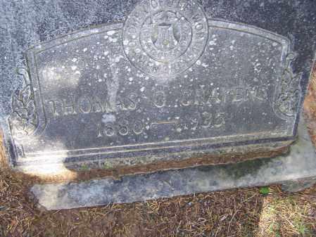 CRAVENS, THOMAS GREEN - Lawrence County, Arkansas | THOMAS GREEN CRAVENS - Arkansas Gravestone Photos