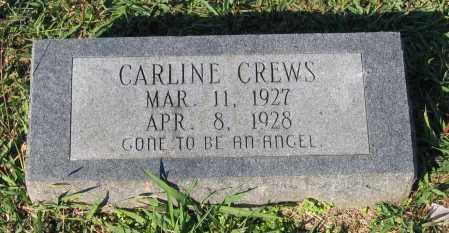 CREWS, CARLINE - Lawrence County, Arkansas | CARLINE CREWS - Arkansas Gravestone Photos