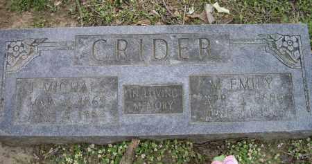 CRIDER, MARY EMILY - Lawrence County, Arkansas | MARY EMILY CRIDER - Arkansas Gravestone Photos