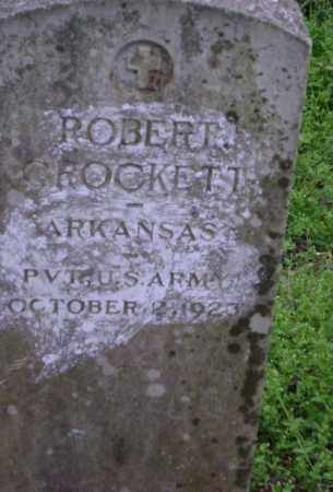 CROCKETT (VETERAN), ROBERT - Lawrence County, Arkansas   ROBERT CROCKETT (VETERAN) - Arkansas Gravestone Photos