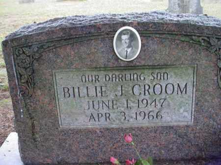 CROOM, BILLIE JAMES - Lawrence County, Arkansas | BILLIE JAMES CROOM - Arkansas Gravestone Photos