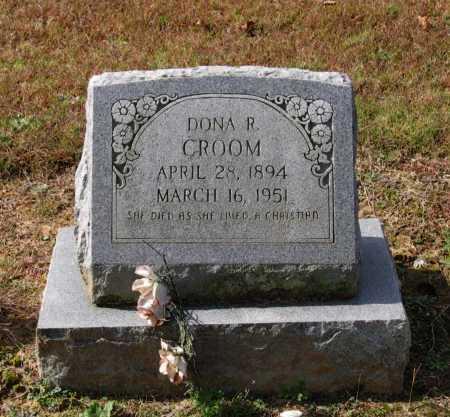 "CROOM, REBECCA ARDONIA ""DONA"" - Lawrence County, Arkansas 