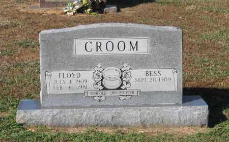 CROOM, FLOYD C. - Lawrence County, Arkansas | FLOYD C. CROOM - Arkansas Gravestone Photos