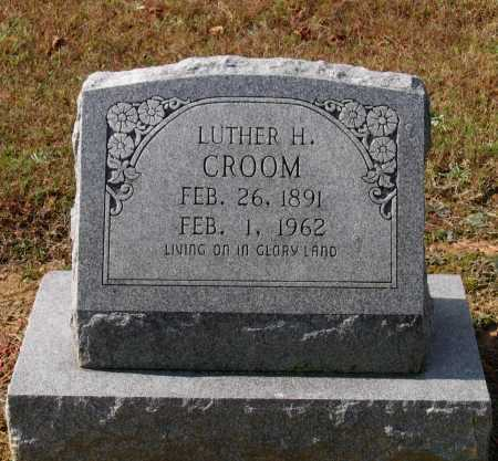CROOM, LUTHER HORACE - Lawrence County, Arkansas | LUTHER HORACE CROOM - Arkansas Gravestone Photos