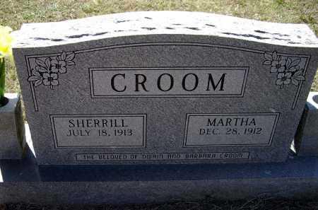 CROOM, SHERRILL EZEKIAL - Lawrence County, Arkansas | SHERRILL EZEKIAL CROOM - Arkansas Gravestone Photos