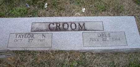 "MAXWELL CROOM, DAISY DRUCILLE ""DRUE"" - Lawrence County, Arkansas 