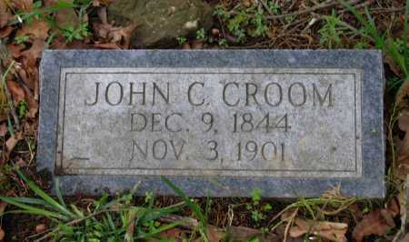 CROOM (VETERAN CSA), JOHN C - Lawrence County, Arkansas | JOHN C CROOM (VETERAN CSA) - Arkansas Gravestone Photos