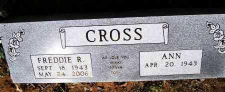 CROSS, FREDDIE R. - Lawrence County, Arkansas   FREDDIE R. CROSS - Arkansas Gravestone Photos