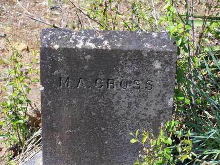 CROSS, M. A. - Lawrence County, Arkansas | M. A. CROSS - Arkansas Gravestone Photos