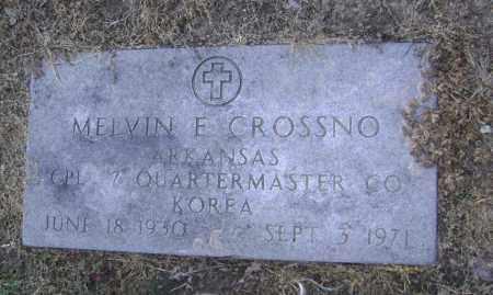 CROSSNO  (VETERAN KOR), MELVIN EUGENE - Lawrence County, Arkansas   MELVIN EUGENE CROSSNO  (VETERAN KOR) - Arkansas Gravestone Photos