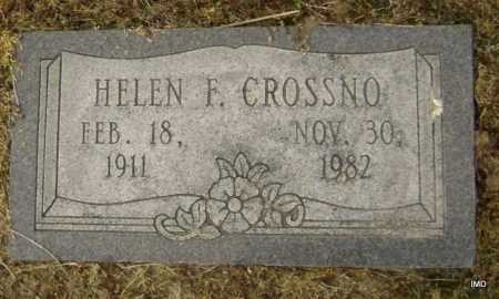 CROSSNO, HELEN FLORILLA - Lawrence County, Arkansas | HELEN FLORILLA CROSSNO - Arkansas Gravestone Photos
