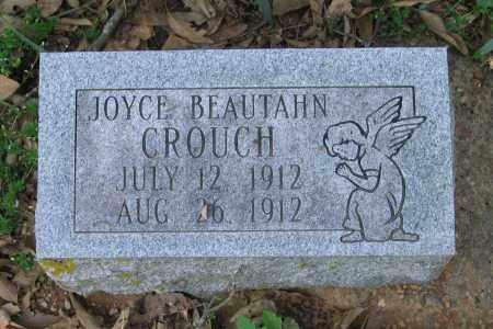 CROUCH, JOYCE BEAUTAHN - Lawrence County, Arkansas   JOYCE BEAUTAHN CROUCH - Arkansas Gravestone Photos