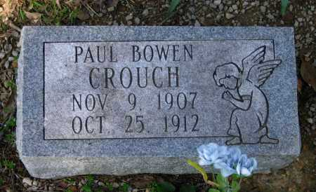 CROUCH, PAUL BOWEN - Lawrence County, Arkansas | PAUL BOWEN CROUCH - Arkansas Gravestone Photos