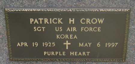 CROW (VETERAN KOR), PATRICK HENRY - Lawrence County, Arkansas | PATRICK HENRY CROW (VETERAN KOR) - Arkansas Gravestone Photos