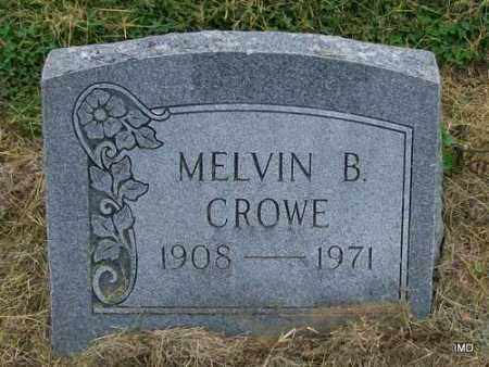 CROWE, MELVIN BLAKELEY - Lawrence County, Arkansas   MELVIN BLAKELEY CROWE - Arkansas Gravestone Photos