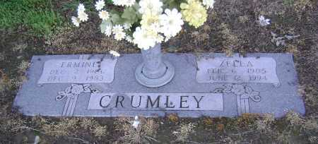 CRUMLEY, ZELLA - Lawrence County, Arkansas | ZELLA CRUMLEY - Arkansas Gravestone Photos