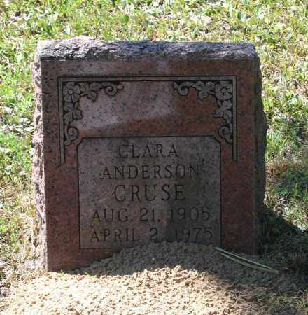 CRUSE, CLARA - Lawrence County, Arkansas | CLARA CRUSE - Arkansas Gravestone Photos
