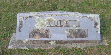 CUDE, JAMES ALVIN - Lawrence County, Arkansas | JAMES ALVIN CUDE - Arkansas Gravestone Photos