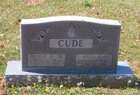 CUDE, JR., HONOR V. - Lawrence County, Arkansas | HONOR V. CUDE, JR. - Arkansas Gravestone Photos