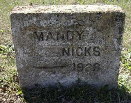 "NIX, AMANDA HELMS CUNNINGHAM ""MANDY"" - Lawrence County, Arkansas | AMANDA HELMS CUNNINGHAM ""MANDY"" NIX - Arkansas Gravestone Photos"