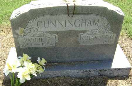CUNNINGHAM, CHARLES G. - Lawrence County, Arkansas | CHARLES G. CUNNINGHAM - Arkansas Gravestone Photos