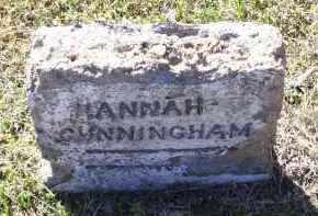 CUNNINGHAM, HANNAH - Lawrence County, Arkansas   HANNAH CUNNINGHAM - Arkansas Gravestone Photos