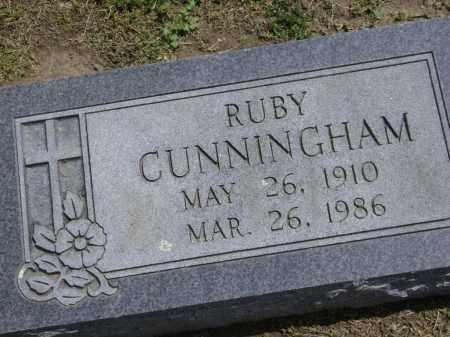 CUNNINGHAM, RUBY - Lawrence County, Arkansas | RUBY CUNNINGHAM - Arkansas Gravestone Photos
