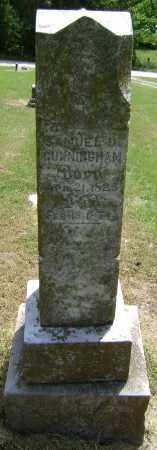 CUNNINGHAM, SAMUEL D. - Lawrence County, Arkansas | SAMUEL D. CUNNINGHAM - Arkansas Gravestone Photos