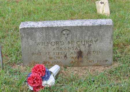 CURRY (VETERAN WWI), WILFORD HARRY - Lawrence County, Arkansas | WILFORD HARRY CURRY (VETERAN WWI) - Arkansas Gravestone Photos