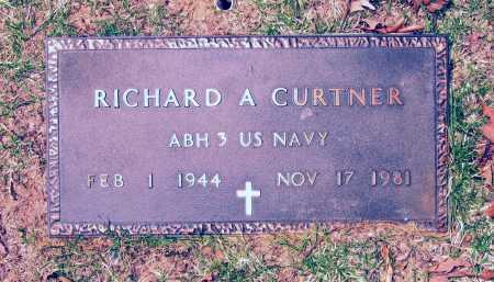CURTNER (VETERAN), RICHARD A - Lawrence County, Arkansas | RICHARD A CURTNER (VETERAN) - Arkansas Gravestone Photos
