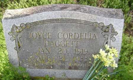DAGGETT, JOYCE CORDELIA - Lawrence County, Arkansas | JOYCE CORDELIA DAGGETT - Arkansas Gravestone Photos