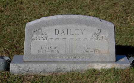 DAILEY, JAMES WASHINGTON - Lawrence County, Arkansas | JAMES WASHINGTON DAILEY - Arkansas Gravestone Photos