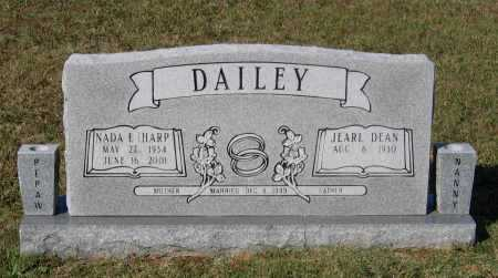 HARP DAILEY, NADA ELIZABETH - Lawrence County, Arkansas | NADA ELIZABETH HARP DAILEY - Arkansas Gravestone Photos