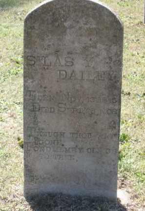 DAILEY (VETERAN CSA), SILAS YOUNGBLOOD - Lawrence County, Arkansas | SILAS YOUNGBLOOD DAILEY (VETERAN CSA) - Arkansas Gravestone Photos
