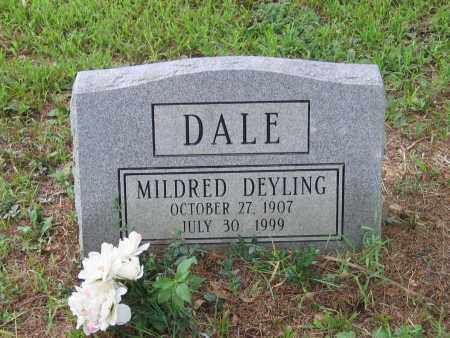 DALE, MILDRED - Lawrence County, Arkansas | MILDRED DALE - Arkansas Gravestone Photos